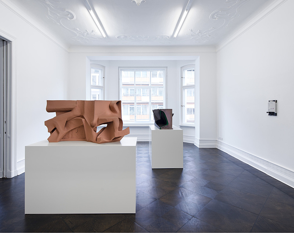 Vincent Fecteau – installation view Galerie Buchholz, Berlin 2017