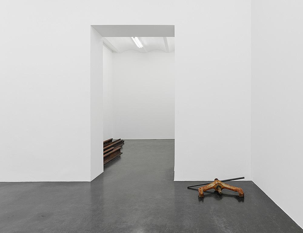 Cameron Rowland – Birmingham installation view Galerie Buchholz, Köln 2017