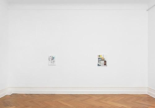 Caleb Considine – Cancelled installation view Galerie Buchholz, Berlin 2017
