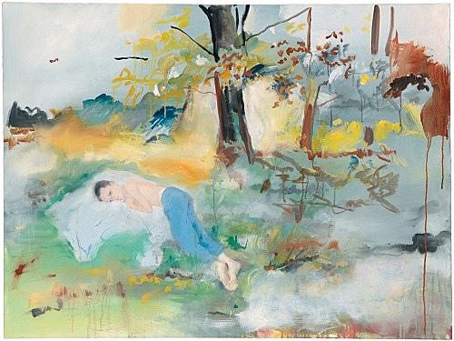 Jochen Klein – Untitled, 1997 oil on canvas 76 x 101 cm