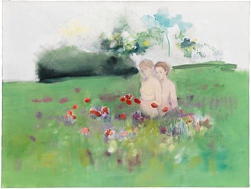 Jochen Klein – Untitled, 1996 oil on canvas 76 x 101 cm