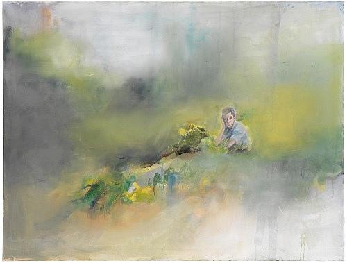 Jochen Klein – Untitled, 1997 oil on canvas 103 x 147 cm