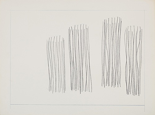 "Melvin Edwards – ""Untitled Barbed Wire Study"", 1970 