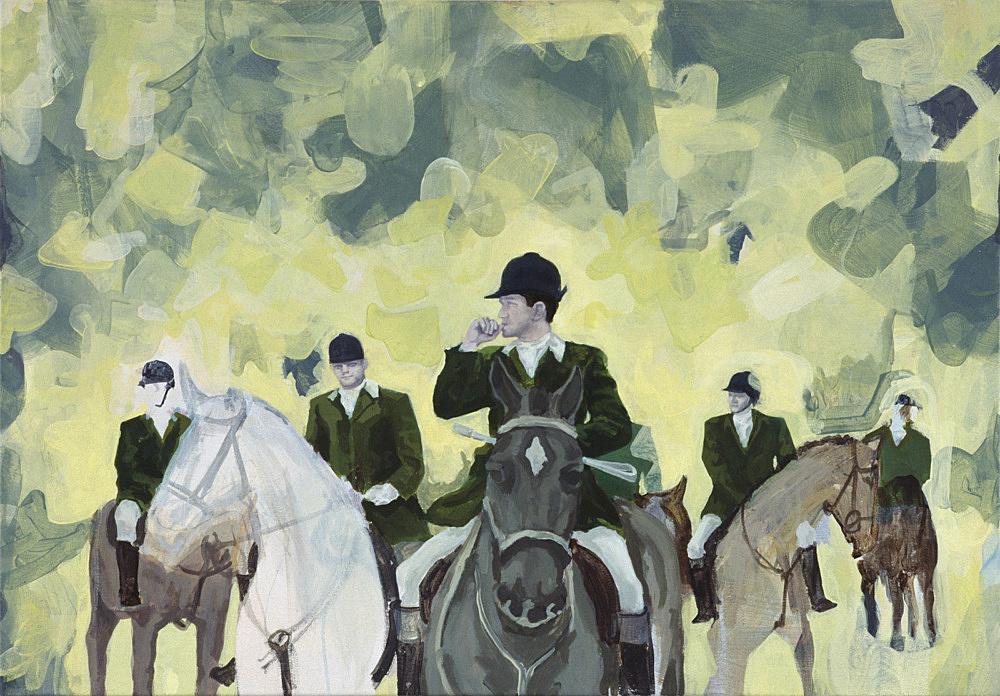 "Thomas Eggerer – ""Sweet Valley High"", 1998 acrylic on canvas 70 x 100 cm"