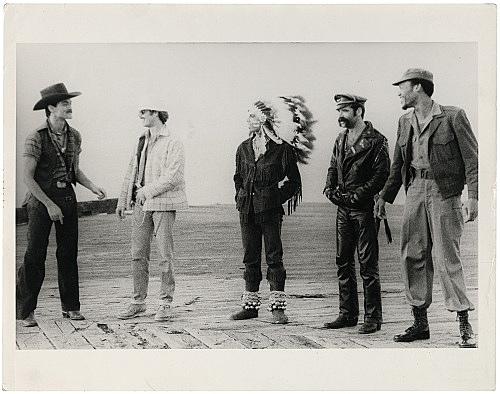 Alvin Baltrop – The Piers (Village People), n.d. (1975-1986) silver gelatin print image size: 21.9 x 33 cm paper size: 27.9 x 35.6 cm (framed: 46.4 x 51.2 x 2.8 cm)