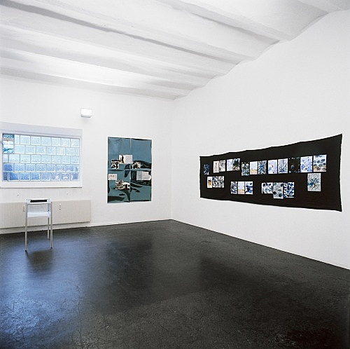"Jutta Koether – ""billet doux"" installation view Galerie Daniel Buchholz, Köln 1998"