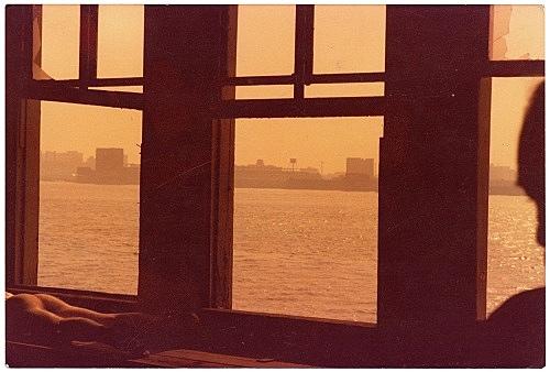 Alvin Baltrop – The Piers (Hudson River through window), n.d. (1975-1986) c-print image size: 10.1 x 15.2 cm paper size: 10.1 x 15.2 cm (framed: 35.3 x 40.4 x 2.8 cm)