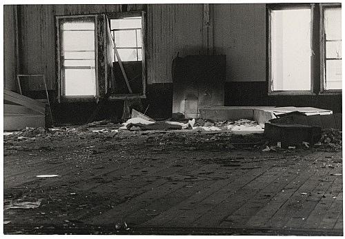 Alvin Baltrop – The Piers (body under cloth), n.d. (1975-1986) silver gelatin print image size: 11.4 x 16.8 cm paper size: 11.4 x 16.8 cm (framed: 35.3 x 40.4 x 2.8 cm)