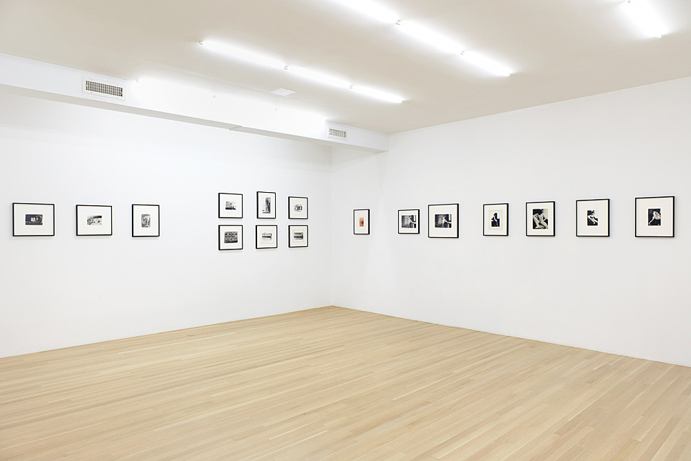 """Alvin Baltrop – """"At the Hudson River Piers"""" selected by Douglas Crimp installation view Galerie Buchholz, New York 2017"""