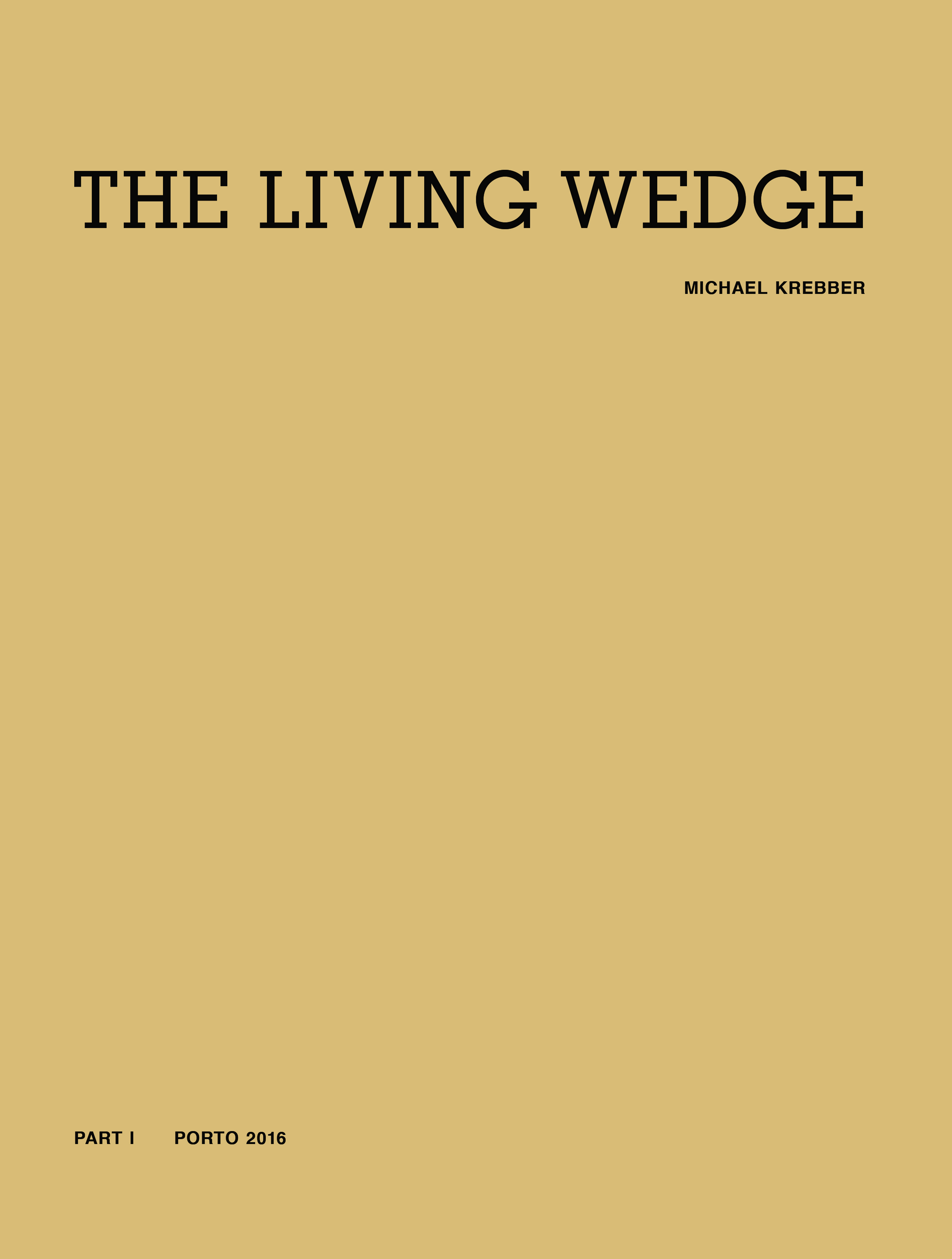 "Michael Krebber – ""The Living Wedge. Part II"" 2017, 160 pages, with 47 color plates, Owrps, 28 x 21,5 cm Euro 24.80,- – This two part publication documents the survey exhibition of Michael Krebber under the same title that took place at the Museo de Serralves, Porto and the Kunsthalle Bern in 2016/2017. Part II contains new essays by Valérie Knoll, Hans-Christian Dany, João Ribas and Manfred Hermes as well as the works list for the works depicted in Part I. Additionally Part II features color plates of the drawing series ""Flat Finish 1-47""."