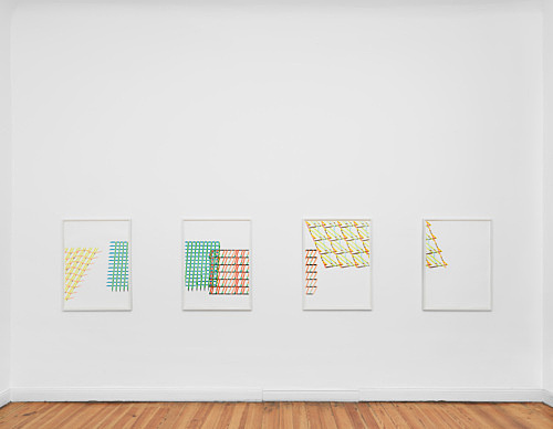 Tomma Abts – Untitled #1-7, 2016 