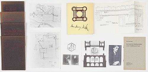 – Vitrine: Hans Henny Jahnn / Ugrino installation view Galerie Buchholz, New York 2017