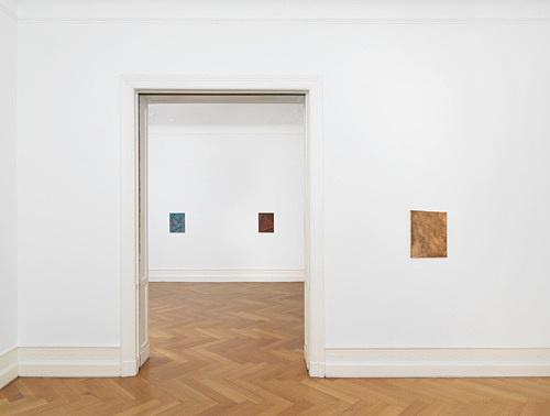 Tomma Abts – installation view Galerie Buchholz, Berlin 2017