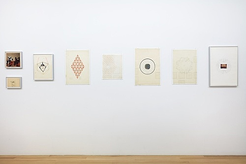 Ludwig Gosewitz – works on paper, 1968-1971 installation view Galerie Buchholz, New York 2017