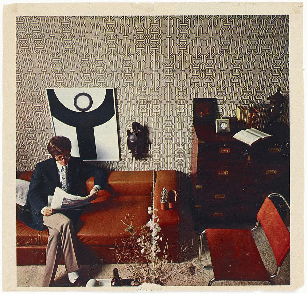 Ludwig Gosewitz – Untitled, 1968 ink on magazine page 24.3 x 25.8 cm