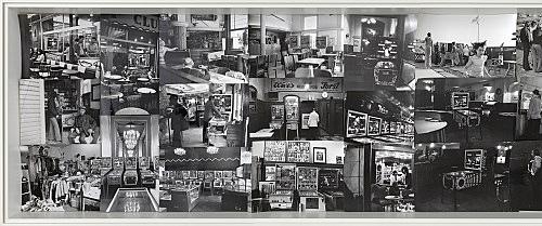 Candida Höfer – Flipper, 1973 47 Silbergelatine Abzüge jeweils ca. 24 x 30 cm Detail