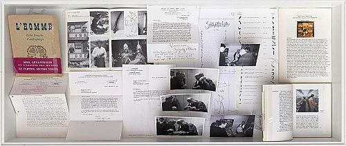– Vitrine: Die Analysen des Flippers und ihre Publikation Installationsansicht Galerie Buchholz, Berlin 2018