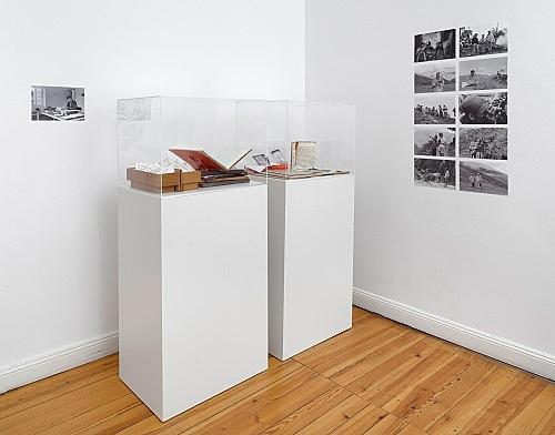 Michael Oppitz – Forschungen an den Rändern der Schrift Raum IV: Feldforschung Installationsansicht Galerie Buchholz, Berlin 2018