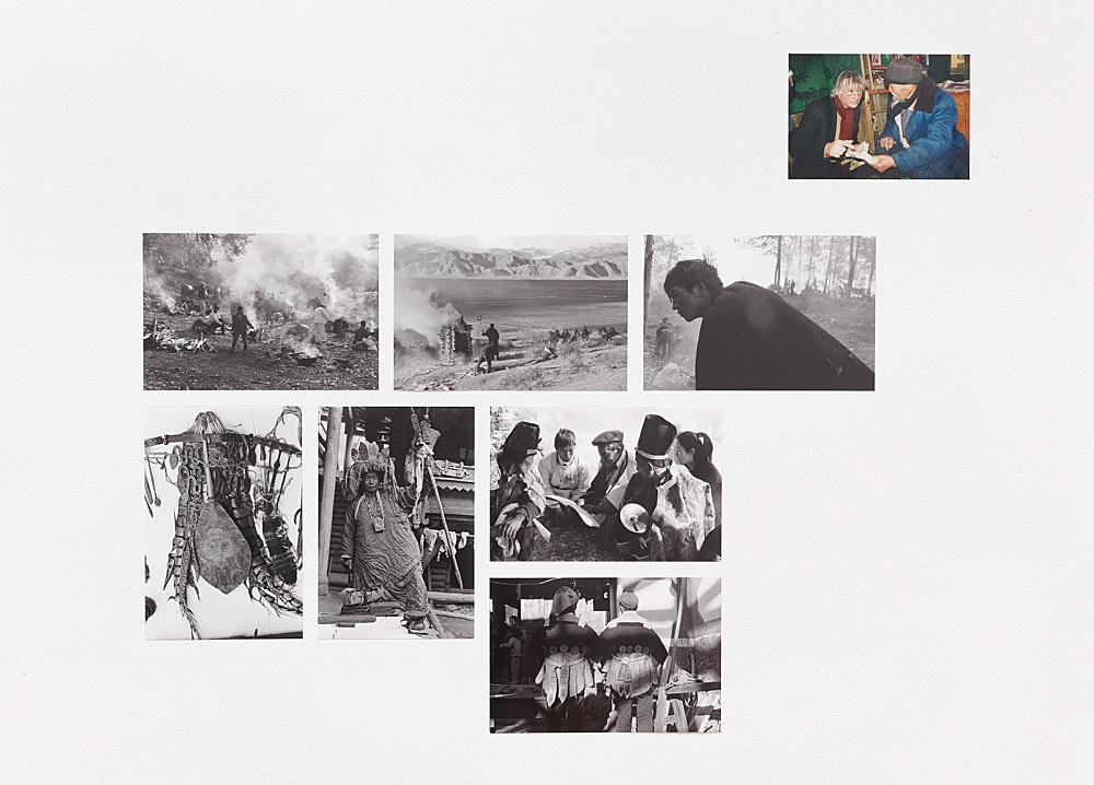 – Bei den Naxi Fotografien, 1988-2000 Installationsansicht Galerie Buchholz, Berlin 2018