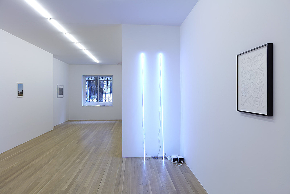 Wolfgang Tillmans, Heinz Peter Knes, Cerith Wyn Evans, Danh Vo – installation view Galerie Buchholz, New York 2018