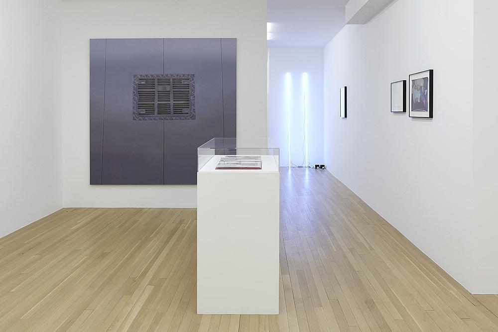 Thomas Eggerer, Cerith Wyn Evans, Danh Vo, Jochen Klein – installation view Galerie Buchholz, New York 2018