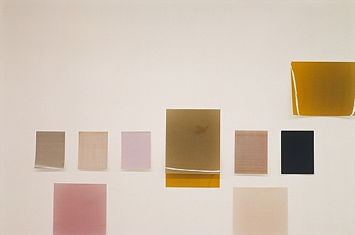 "Wolfgang Tillmans – ""Silver installation (detail)"", 2005 unframed inkjet print on paper, clips 138 x 206 cm"