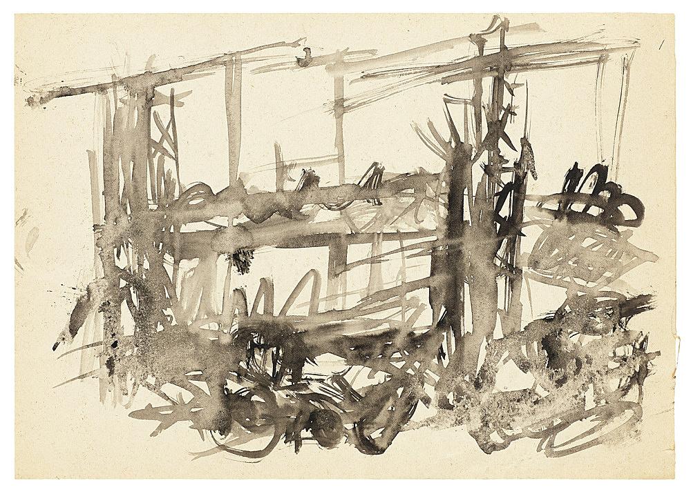 Jochen Klein – Untitled, n.d. ink on paper 21 x 29.7 cm