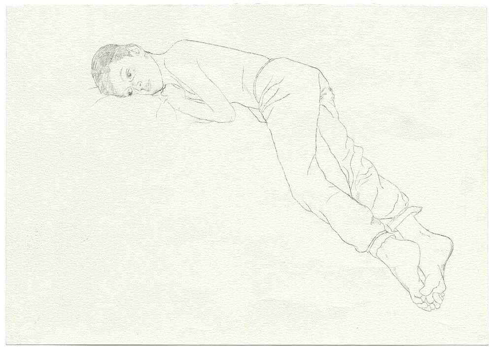 Jochen Klein – Untitled, 1997 pencil on paper 21 x 29.5 cm