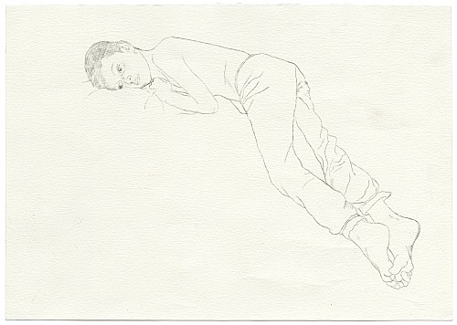 Jochen Klein – Untitled, 1997 pencil on paper 21 x 29.5 cm