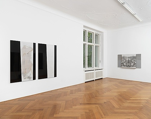 R.H. Quaytman – An Evening, Chapter 32 installation view Galerie Buchholz, Berlin 2018