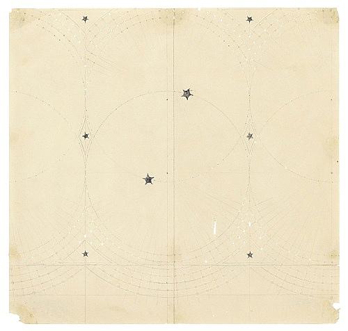 Paul Bonet – Untitled, n.d. pencil, printer's ink on paper 23.6 x 22.6 cm
