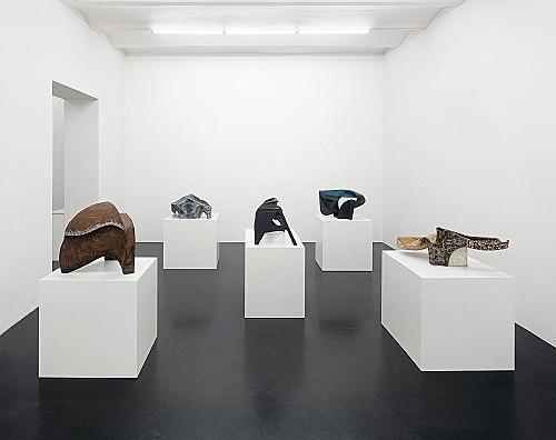Vincent Fecteau – installation view, Galerie Daniel Buchholz, Köln 2006
