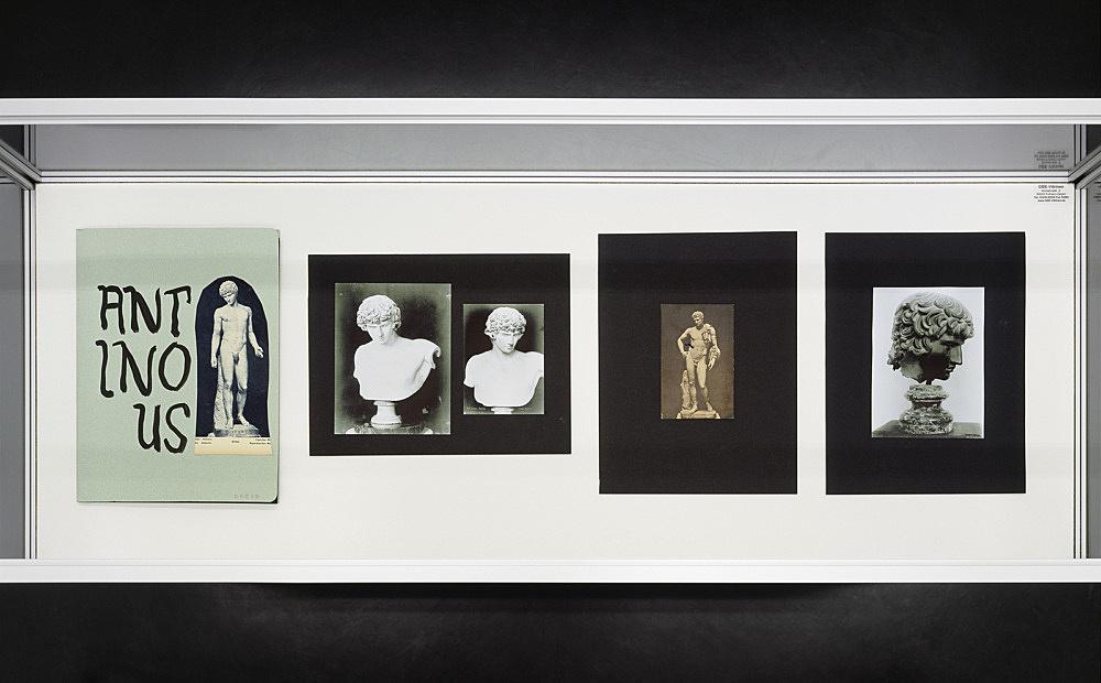 "Richard Hawkins – ""Urbis Paganus III.8 B"", 2006 portfolio, 10 photographic plates, collage, ink 32,5 x 24,5 cm"