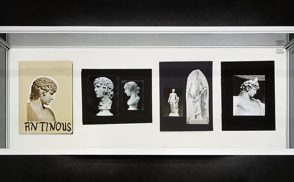"Richard Hawkins – ""Urbis Paganus III.8 A"", 2006 portfolio, 10 photographic plates, collage, ink 32,5 x 24,5 cm"