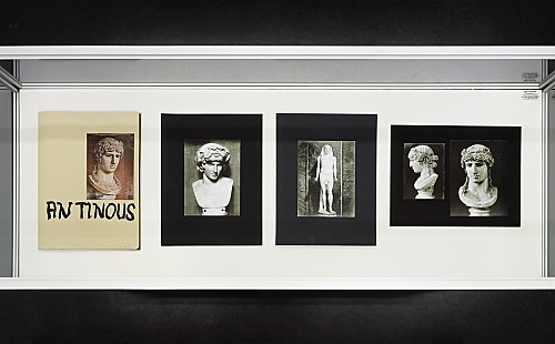 "Richard Hawkins – ""Urbis Paganus III.8 C"", 2006 portfolio, 10 photographic plates, collage, ink 32,5 x 24,5 cm"