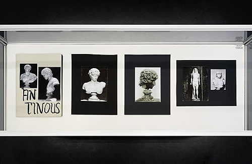 "Richard Hawkins – ""Urbis Paganus III.8 D"", 2006 portfolio, 10 photographic plates, collage, ink 32,5 x 24,5 cm"