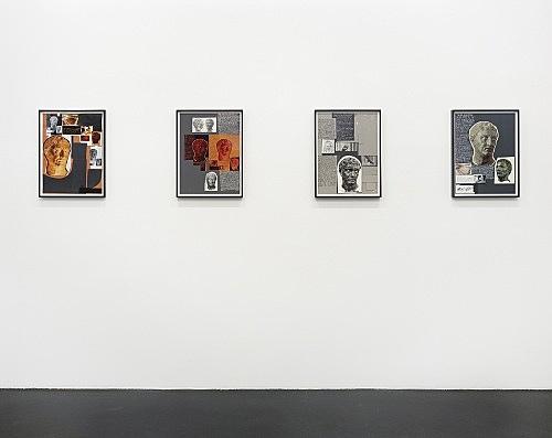 "Richard Hawkins – ""Urbis Paganus"" installation view Galerie Daniel Buchholz, Köln 2006"