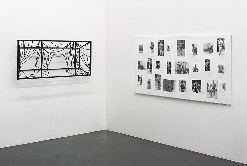 Julian Göthe – installation view Galerie Daniel Buchholz, Köln 2004