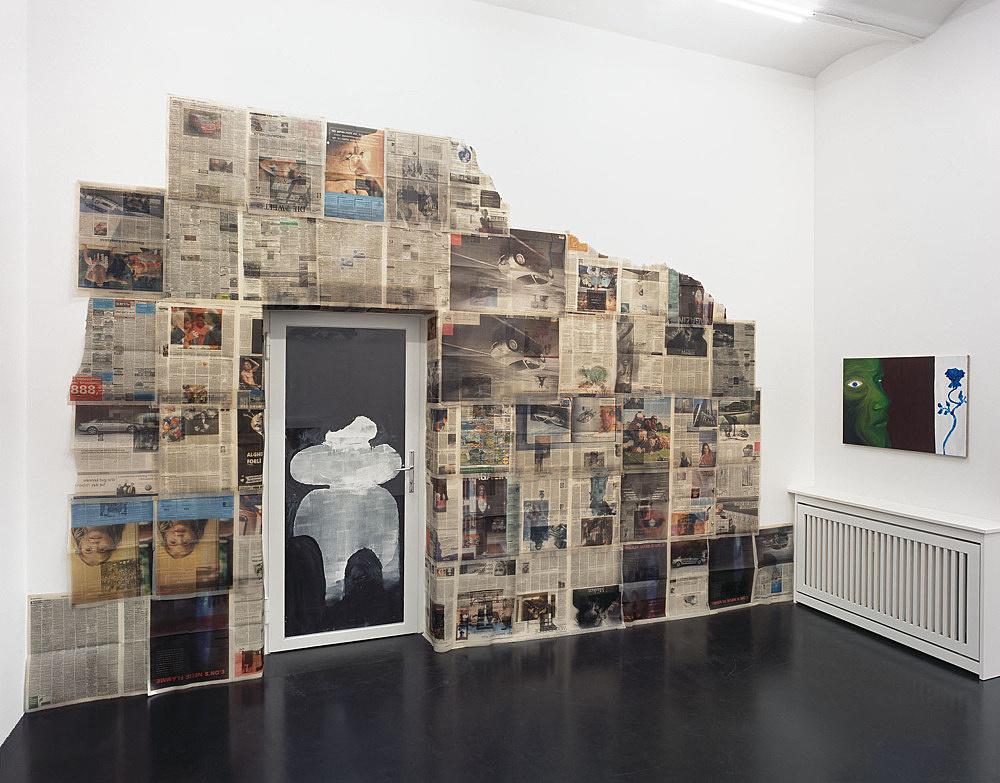 Michael Hakimi, Armin Krämer – installation view Galerie Daniel Buchholz, Köln 2004
