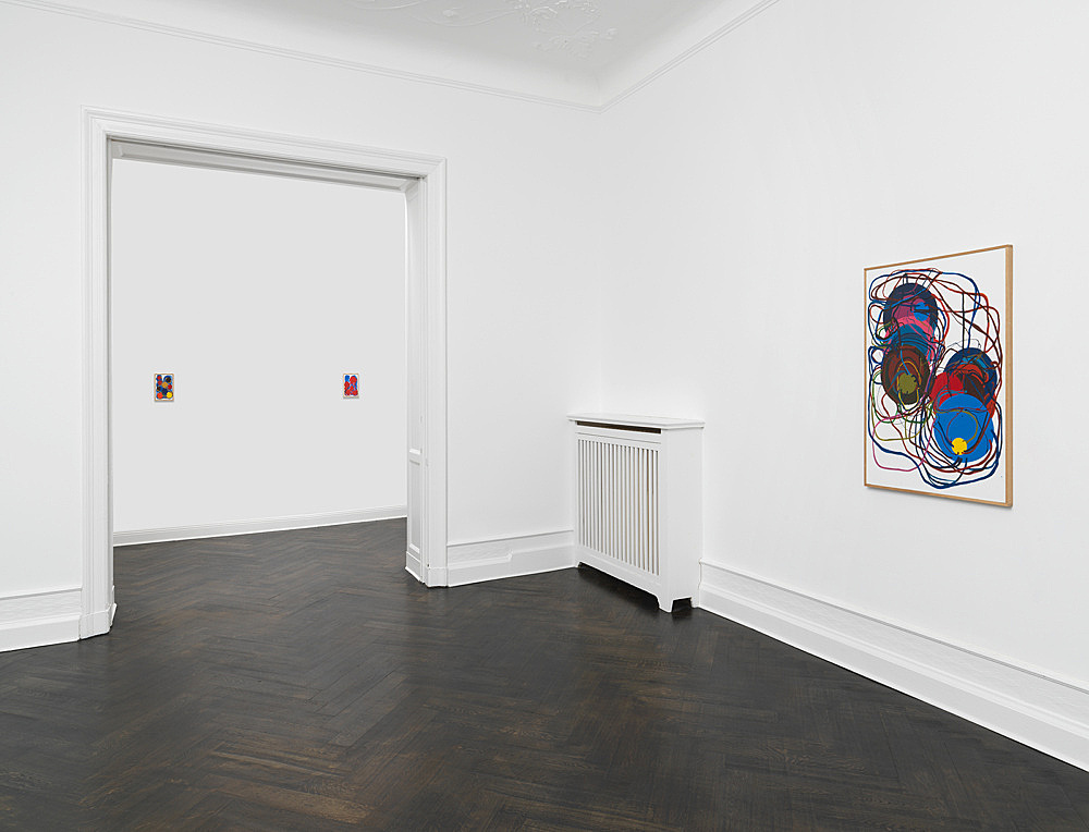 Atsuko Tanaka – Works from the late 1960s to 2000 installation view Galerie Buchholz, Berlin 2018