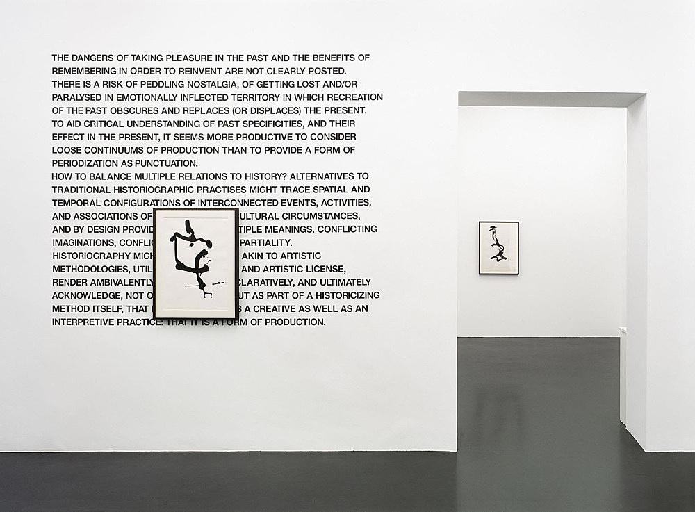 "Cerith Wyn Evans – ""Socle du Monde"" installation view Galerie Daniel Buchholz, Neven-DuMont-Straße 17, 2007"