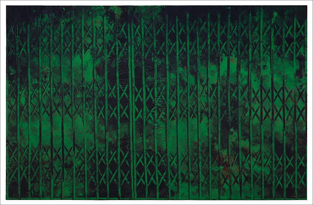 Untitled (green storefront), 1985