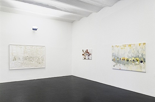 Thomas Eggerer – installation view Galerie Daniel Buchholz, Köln 2002