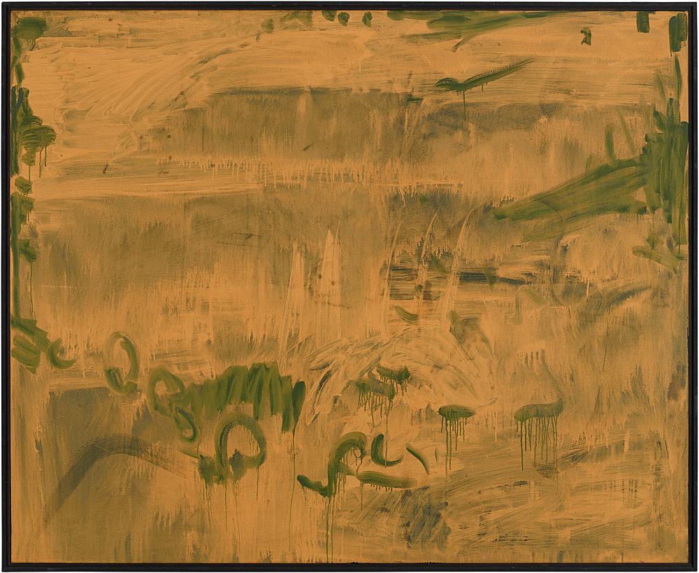 Michael Krebber – Untitled, 1993 oil on canvas 130 x 160 cm