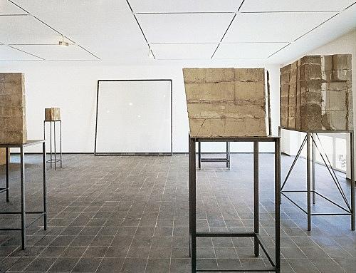 "Isa Genzken – ""Fenster, Venloer Straße"", 1988 Project for the facade of Galerie Buchholz, Venloer Str. 21, Cologne installation view Galerie Buchholz, 1988 photograph"