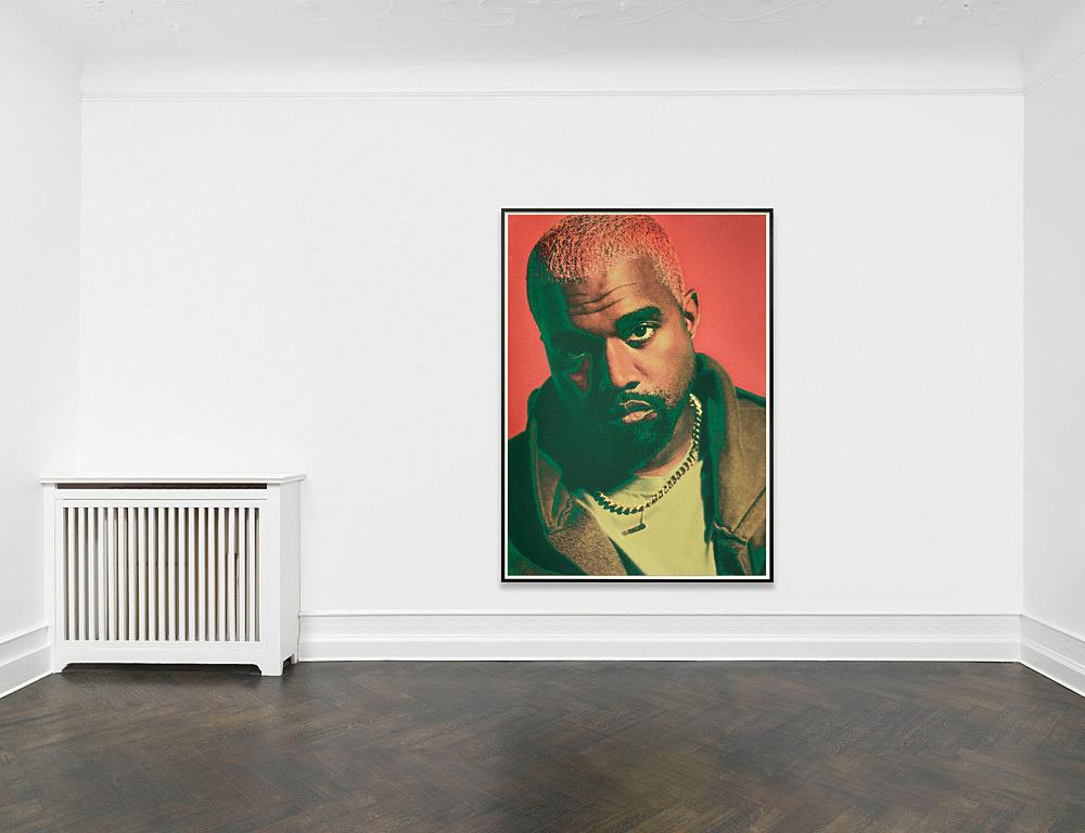 "Heji Shin – ""KW9"", 2018 inkjet print, framed 224 x 160 cm (framed: 233 x 169 x 5 cm) installation view Galerie Buchholz, Berlin 2019"