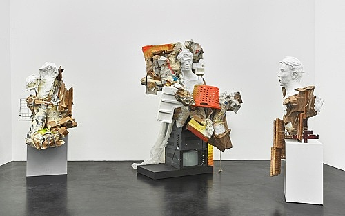 Danica Barboza – Omnia - Mercurial, Interposition installation view Galerie Buchholz, Köln 2019