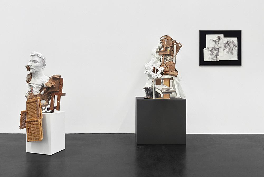 Danica Barboza – Omnia – Mercurial, Interposition installation view Galerie Buchholz, Köln 2019