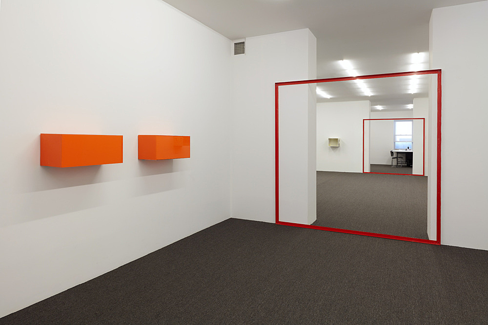 Henrik Olesen – installation view Galerie Buchholz, New York 2019
