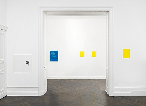 Mayo Thompson – Go to the window installation view Galerie Buchholz, Berlin 2019